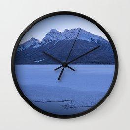 frosty ending Wall Clock