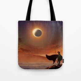 Greek Warrior Watches for Ships Tote Bag