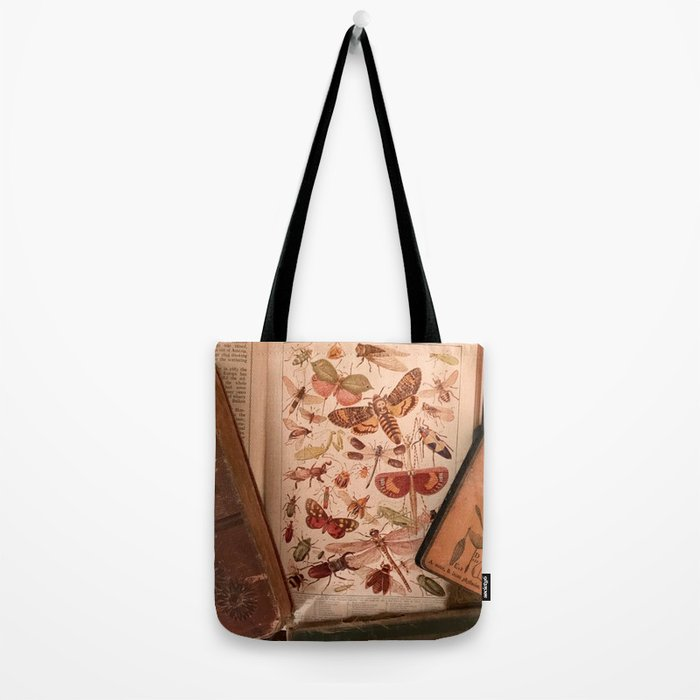 Vintage Insects 2 Tote Bag