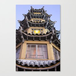Chinatown in L.A. Canvas Print