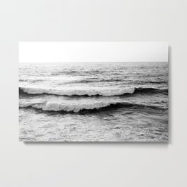 California Waves Metal Print
