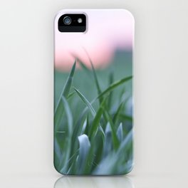 Nature on fields iPhone Case