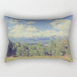 Boreas Pass Mountainscape Rectangular Pillow
