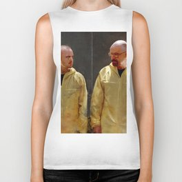 Walter White And Jesse Pinkman - Time To Cook Biker Tank