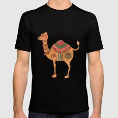 The Ethnic Camel Mens Fitted Tee MEDIUM Black