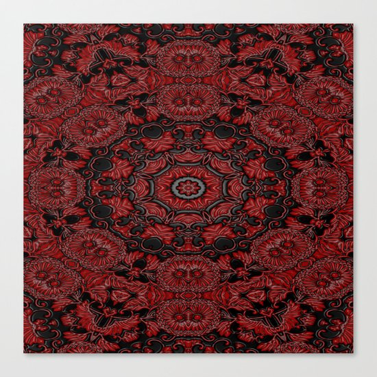 Regal Red 2 Canvas Print