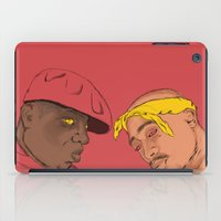 tupac iPad Cases featuring Resting Kings by Aybee Omari