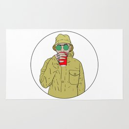 "Mac Miller R.I.P ""Juice"" Rug"