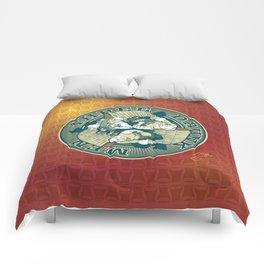 Three Drunk Men Comforters