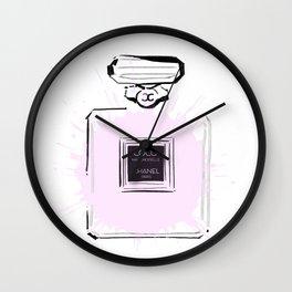 Pink Perfume 2 Wall Clock
