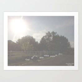 Hipster Photo: Rejoice Remix Art Print
