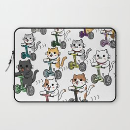 Cats for a walk Laptop Sleeve
