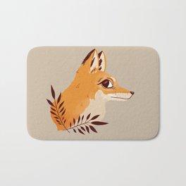 Fox Familiar Bath Mat