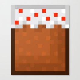 MineCake Canvas Print