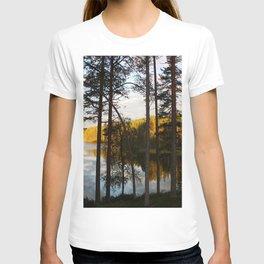 Sunset in far north T-shirt