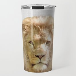 Lion - Colorful Travel Mug