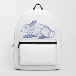 Bunny Sketch Backpack