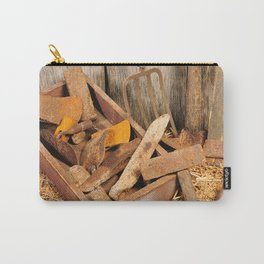 Rusted tools Carry-All Pouch