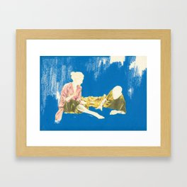 Algorithm Framed Art Print