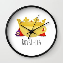 Royal-tea Wall Clock