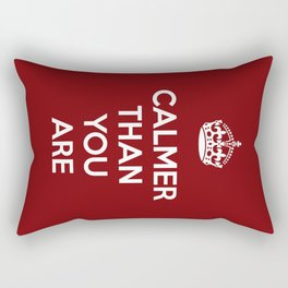 Keep Calm Lebowski Rectangular Pillow