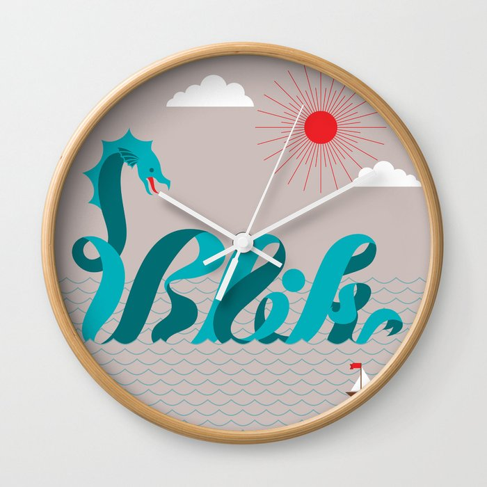 It's An Adventure! Wall Clock