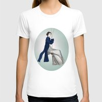 pride and prejudice T-shirts featuring Fashion Illustration - Pride & Prejudice by BeckiBoos