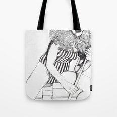 Pool Cue Girl Tote Bag