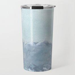 bluish grey landscape Travel Mug
