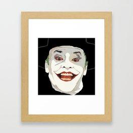 Jokester  Framed Art Print