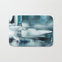 Together.... again... (bright blue version) Bath Mat
