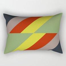Modernist Geometric Graphic Art Rectangular Pillow
