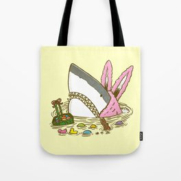 The Easter Shark Tote Bag