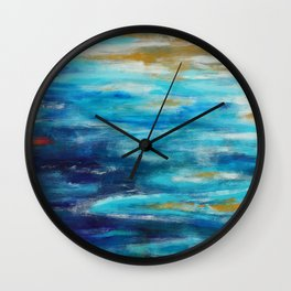 Sea Lullaby Wall Clock