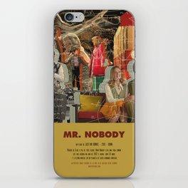 Mr. Nobody - Jaco Van Dormael iPhone Skin
