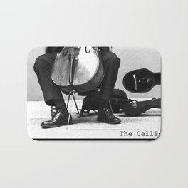 The Cellist Bath Mat