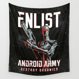 Destroy Organics Wall Tapestry