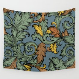 Acanthus Leaves Wall Tapestry