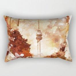 Beograd - Avala - Grafika Rectangular Pillow