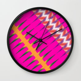 Play of colors Wall Clock