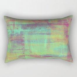 Humility - Mixed Colour Abstract Rectangular Pillow