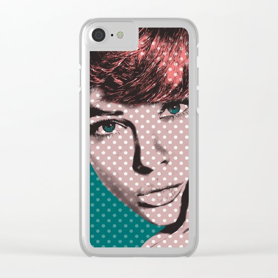Woman 2 Clear iPhone Case