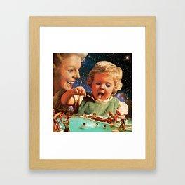 Eat Up Framed Art Print
