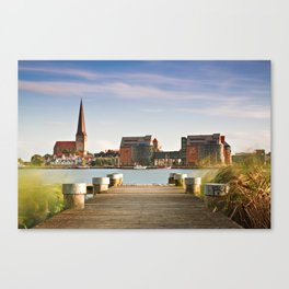 View to Rostock Canvas Print