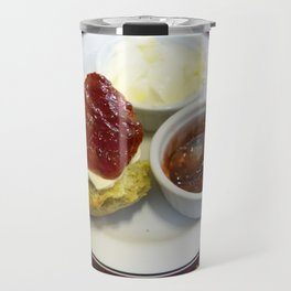 Cream tea for one Travel Mug