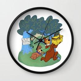 Don't feed the bears Wall Clock