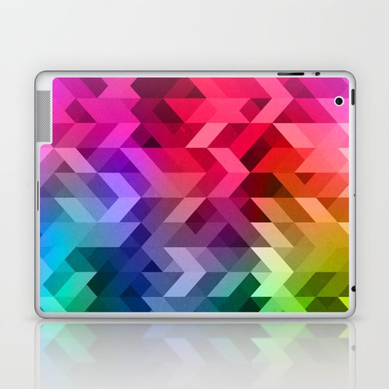 3d Retro  Laptop & iPad Skin