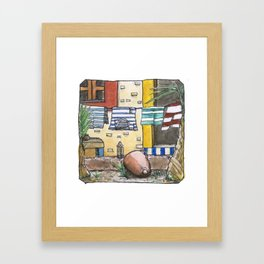 Colorfull Shirts Framed Art Print