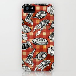 Cajun Food! iPhone Case