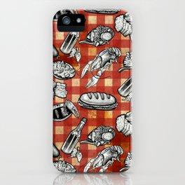 Cajun Food! iPhone Case